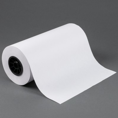 "15"" x 700 40# White Butcher Paper on Roll Butcher Paper"