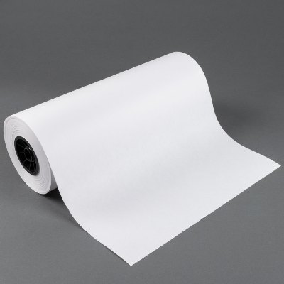 "18"" x 700 40# White Butcher Paper on Roll Butcher Paper"