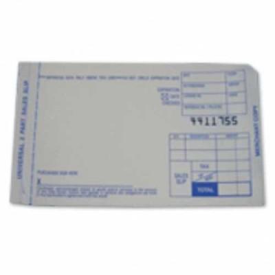credit card receipt book