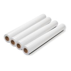 "18"" x 150 27lb Coated Bond 4rls/ctn, 2"" or 3"" Core Available 18 x 150, 27# plotter paper, coated plotter paper"