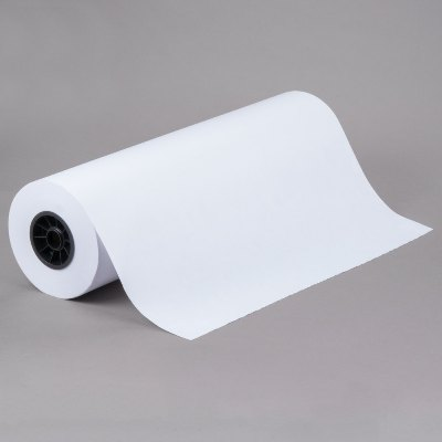 24 x 700 40# White Butcher Paper on Roll Butcher Paper