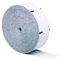 "3 1/8"" x 1960 NCR Thermal Receipt Paper Rolls 4/Case (w/Sense Mark) 3 1/8"" x 1960, NCR Thermal"