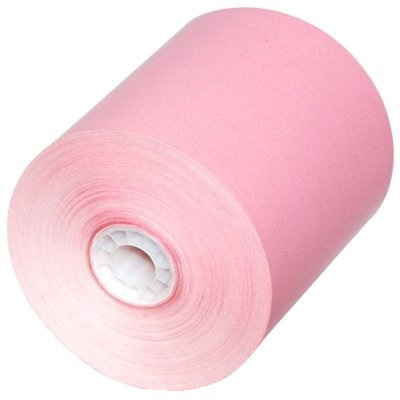 "3 1/8"" x 230 Thermal Paper Rolls Pink 50/box BPA Free pink thermal paper rolls,colored thermal paper rolls, pink paper rolls"