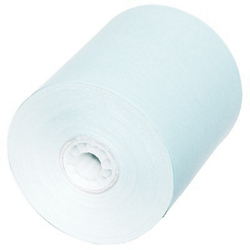"3 1/8"" x 230 Thermal Paper Rolls Powder Blue 50/box BPA Free blue thermal paper rolls,colored thermal paper rolls, blue paper rolls"