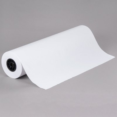 30 x 700 40# White Butcher Paper on Roll Butcher Paper
