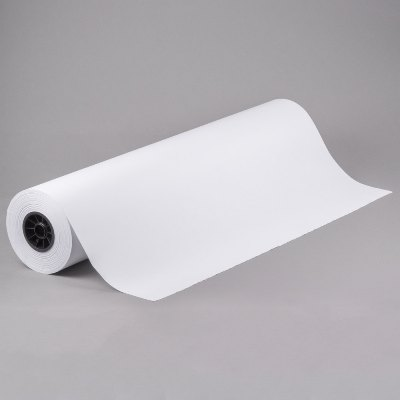 36 x 700 40# White Butcher Paper on Roll Butcher Paper