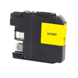 Brother LC103Y Yellow Inkjet Cartridge - Compatible Brother LC103Y, LC103Y