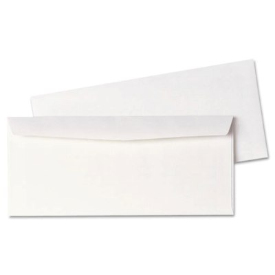 Business Envelope #10 No Windows, White, 500/Box White Business Envelope #10 No Windows, 500/Box