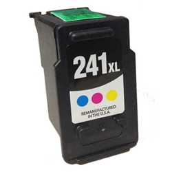 Canon CL-241 Tri-Color Inkjet Cartridge XL (5208B001) - Compatible Canon CL-241, 5208B001