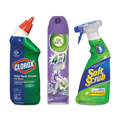 Cleaning Bundle Pack- Air Freshener, Bowl Cleaner, All-Purpose Cleaner Cleaning supplies, cleaner