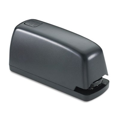 Electric Stapler with Staple Channel Release Button - 15-Sheet Capacity - Black Electric Stapler