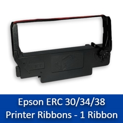 Epson ERC 30/34/38 Printer Ribbons - 1/box erc 30/34/38 printer ribbons, erc 30, erc 34, erc 38