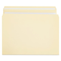 File Folders, Straight Cut, Two-Ply Top Tab, Letter, Manila, 100/Box File Folders, Straight Cut folders
