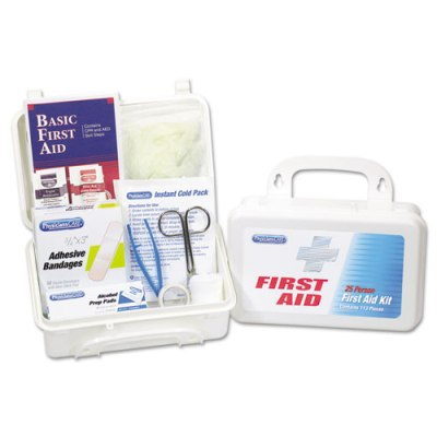 First Aid Kit for 25 People, 113-Pieces First Aid Kit