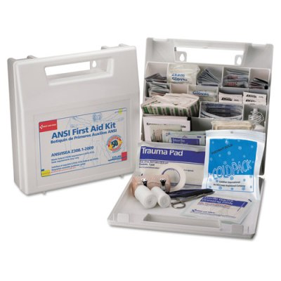 First Aid Kit for 50 People, 196-Pieces, OSHA/ANSI Compliant First Aid Kit, First Aid Kit OSHA Compliant