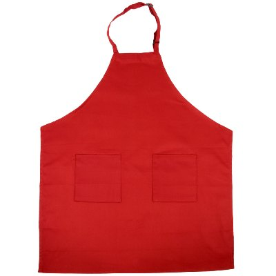 "Full Length Bib Apron with Adjustable Neck & Pockets, 32"" x 28"", 10 Colors Available apron, bib apron"