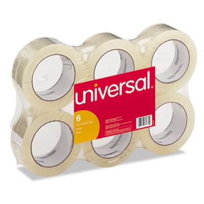 "General-Purpose Box Sealing Tape, 48mm x 100m, 3"" Core, 6/Pack Box Tape"