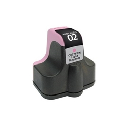 HP 02 Light Magenta Inkjet Cartridge (C8775WN) - Compatible HP 02 Light Magenta, C8775WN
