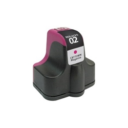 HP 02 Magenta Inkjet Cartridge (C8772WN) - Compatible HP 02, C8772WN