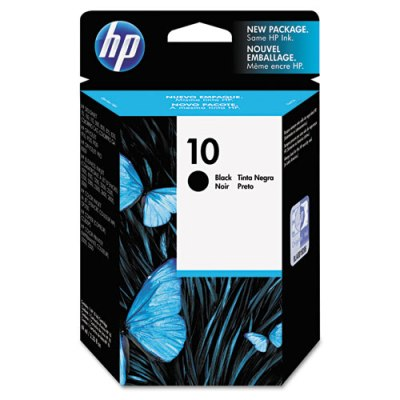 HP 10 - Ink Cartridge - Black 69ml (C4844A) HP 10, DESIGNJET 110 plus ink, C4844A