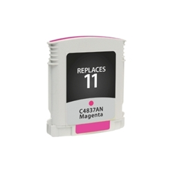 HP 11 Magenta Inkjet Cartridge (C4837AN) - Compatible HP 11 Magenta, C4837AN