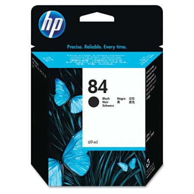 HP 84 - Ink Cartridge - Black 69ml (C5016A) HP 84, DESIGNJET 130, C5016A