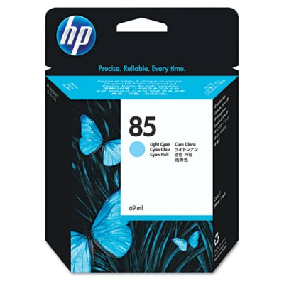 HP 85 - Ink Cartridge - Light Cyan 69ml (C9428A) HP 85, DESIGNJET 130 ink, C9428A