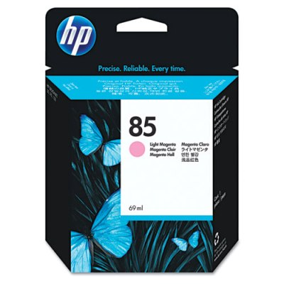 HP 85 - Ink Cartridge - Light Magenta 69ml (C9429A) HP 85, DESIGNJET 130 ink, C9429A