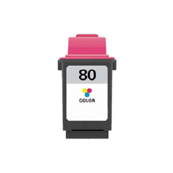 Lexmark 80 Tri-Color Inkjet Cartridge (12A1980) - Compatible Lexmark 80, 12A1980