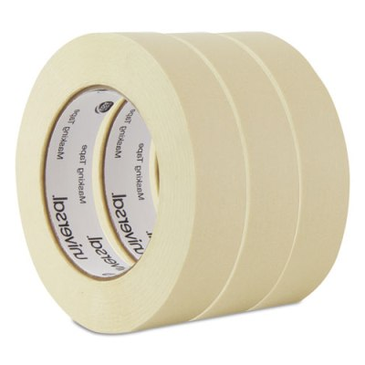 "Masking Tape, 24mm x 54.8m, 3"" Core, 3/Pack Masking Tape"