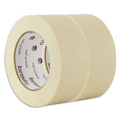 "Masking Tape, 48mm x 54.8m, 3"" Core, 2/Pack Masking Tape"