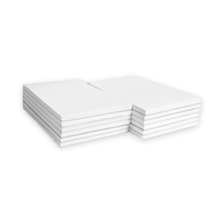 "White Unruled Scratch Pads Gum Top, 3"" x 5"", 100 Sheets, 10/Pack memo pads, memo note pad, 3 X 5 notepads, Bulk Scratch Pads, Scratch Pads, blank notepad, order pads, server pads"