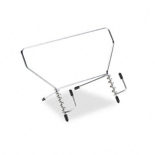Wire Study Stand, Metal, 9 1/2 x 6 x 5 1/2, Silver Wire Study Stand