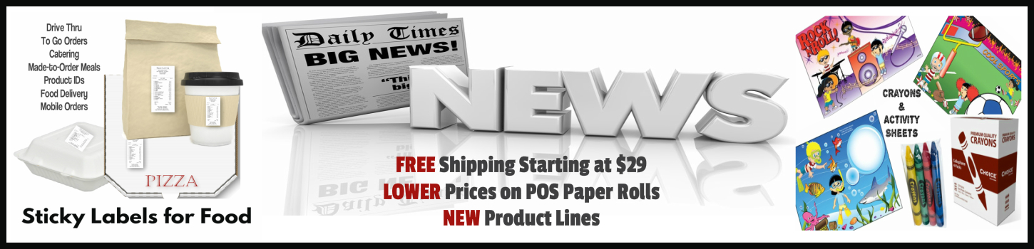 Thermal & Bond Paper Deals from PaperRolls-N-More.com