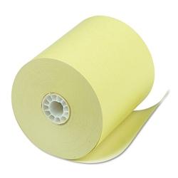 3 1/8 x 220 canary thermal receipt paper rolls