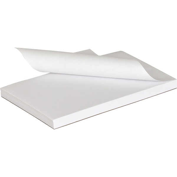 """MyOfficeInnovations Notepads 4/"""" x 6/"""" Unruled White 100 Sh.//Pad 12 Pads//PK 163444"""