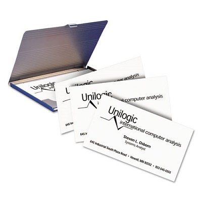 avery micro perforated business cards laser white uncoated 250