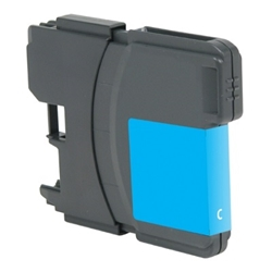 Brother LC61C Cyan Inkjet Cartridge, High Yield, Compatible Brother LC61C, LC61C