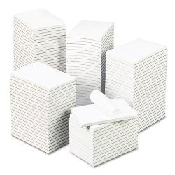 "Bulk White Unruled Scratch Pads Gum Top 4"" x 6"", 100 Sheet-100 Pads/Cs office depot 524538, tops 74716, sparco f46sp, sp4600, unv35624, 4 X 6 notepads, Bulk Scratch Pads, Scratch Pads, blank notepad, order pads, server pads, restaurant pads"