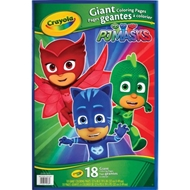 Crayola PJ Masks Giant Coloring Book, 18 Pages