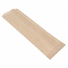 "Natural Kraft Paper Disposable Silverware Bags, 2 3/4"" x 10"", 2000/Case"