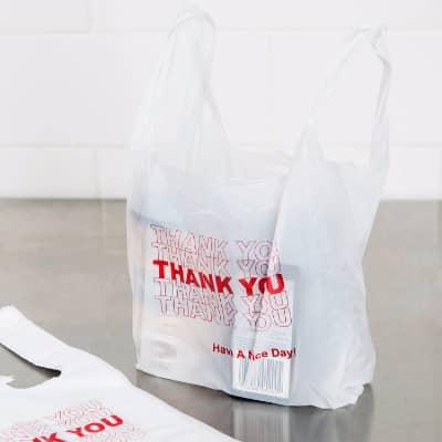 Price 37 88 White Thank You Bag 7 X 13 0 51mil 1000